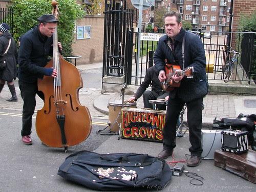 Band in Portobello road