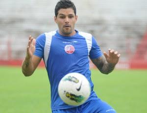 Rico - Náutico (Foto: Aldo Carneiro/Pernambuco Press)