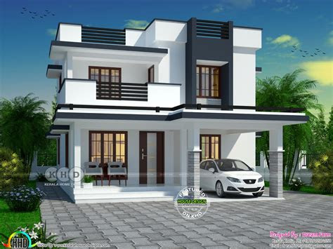 budget friendly  bedroom double storied home kerala