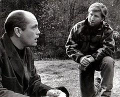 John Malkovich and hunter William Peters