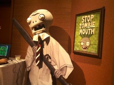 Stop Zombie Mouth PopCap Games and The American Dental Association
