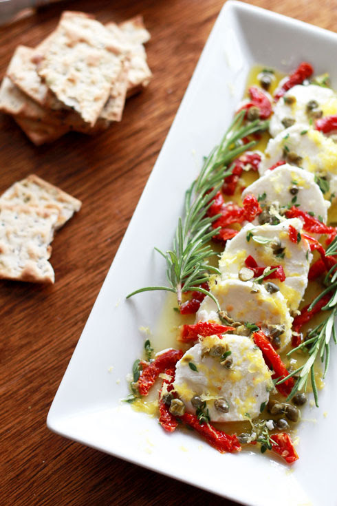Goat Cheese Marinated with Herbs | Perpetually Chic for Made By Girl