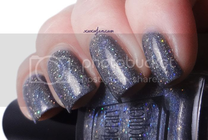 xoxoJen's swatch of Literary Lacquer Shadow Between Us