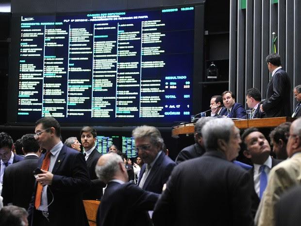 Ordem do dia para análise, discussão e votação de diversos projetos  (Foto: Luis Macedo/Câmara dos Deputados)