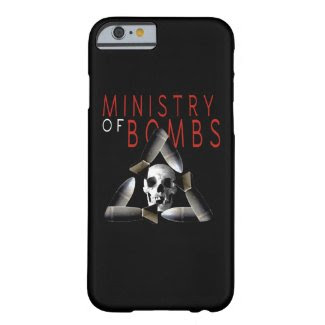 Ministry of Bombs iphone cover Barely There iPhone 6 Case