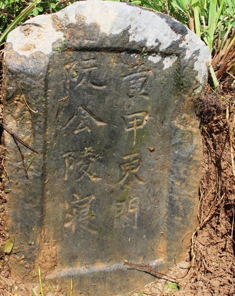 Hình ảnh Phát hiện mộ cổ hơn 500 tuổi ở giữa cánh đồng số 1