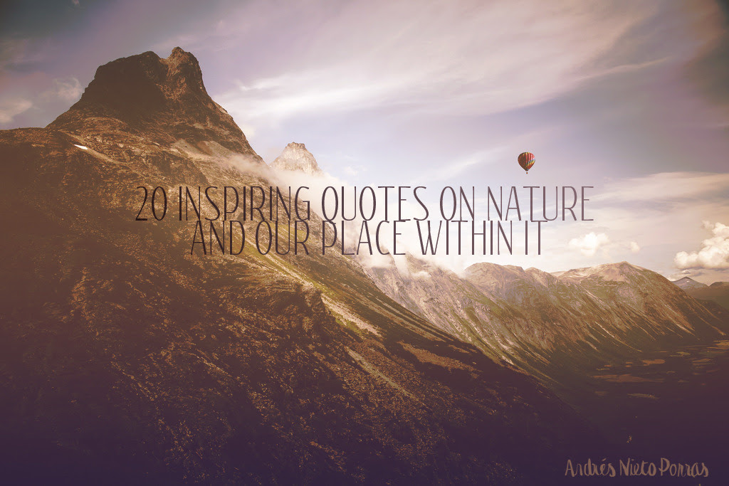 Awesome Quotes About Nature Tumblr Allquotesideas