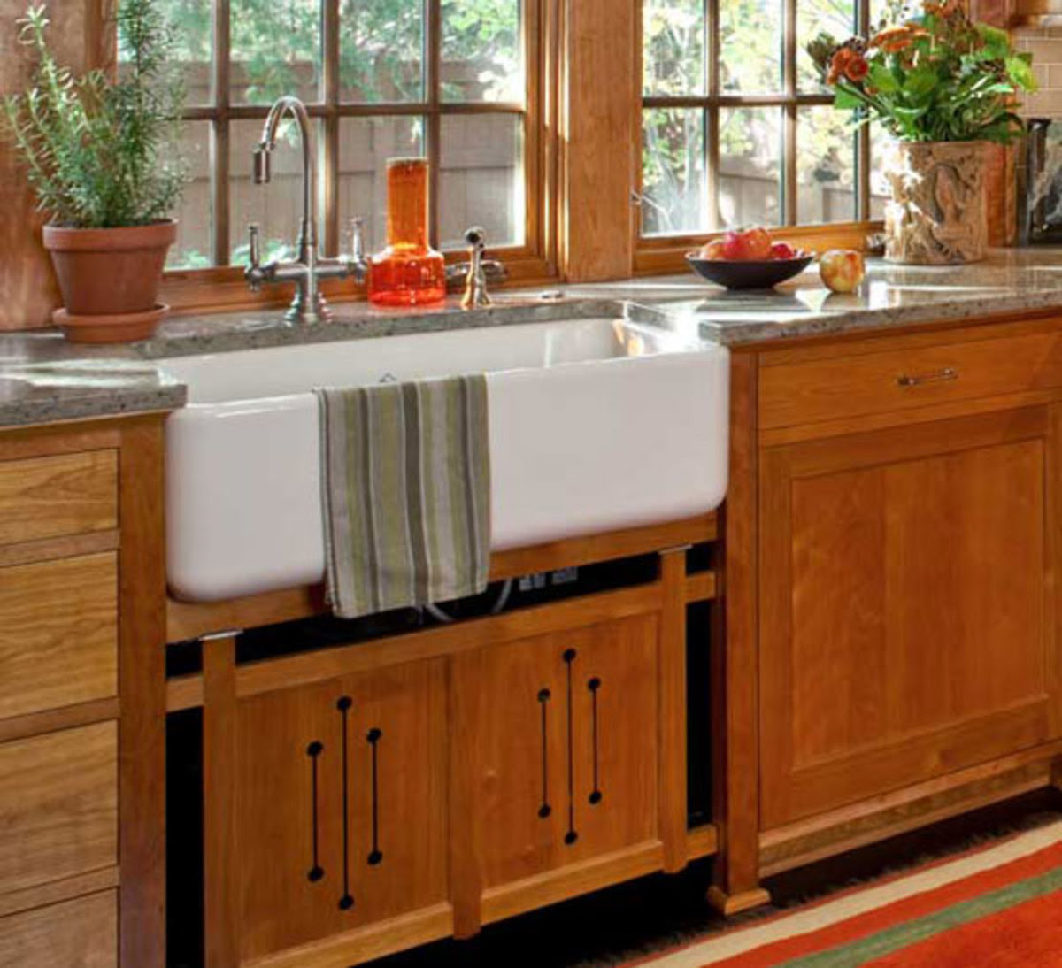 Craftsman Kitchen Cabinets — Arts & Crafts Homes and the ...