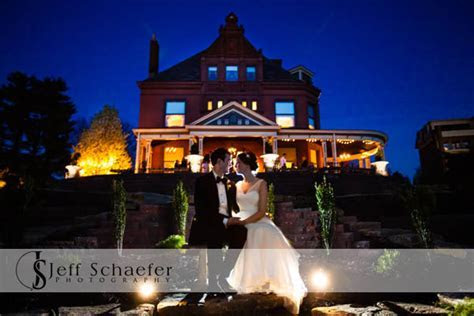 Wiedemann Hill Mansion wedding photographs Zach & Melissa