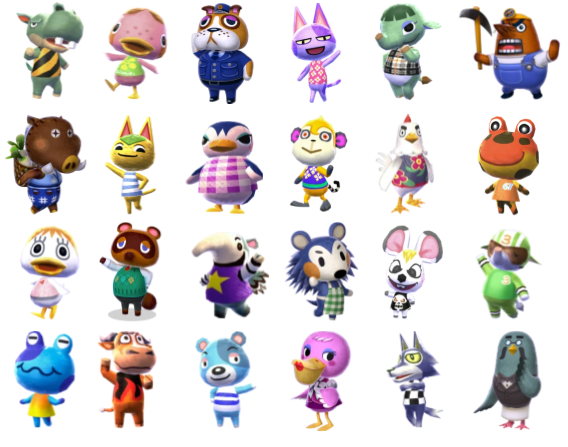 Animal Crossing Wild World Characters Quiz - By palmtree