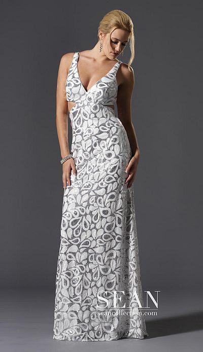 90043 Sean Express Prom Dress S12