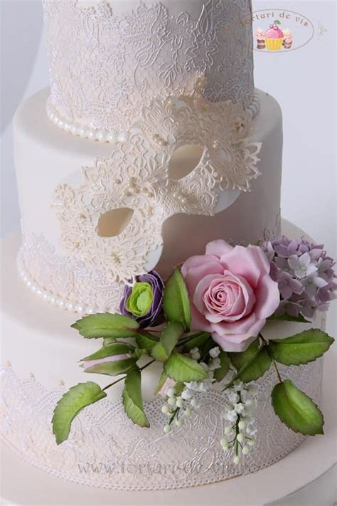 10 Best ideas about Masquerade Cakes on Pinterest