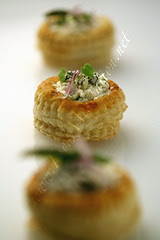 Bites - Puff Pastry with Ricotta and Onion