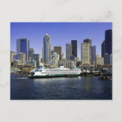Seattle Ferry Washington State Postcards