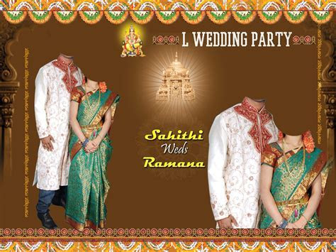 Hindu Wedding Flex Designs Psd   Joy Studio Design Gallery