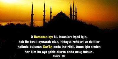 resimli ramazan mesajı