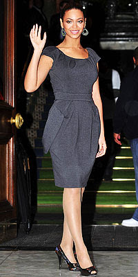Beyonce, Christian Dior, Pleated Necklines, The Look