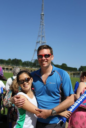 Olympic Torch Relay Crystal Palace - The happy couple by ultraBobban