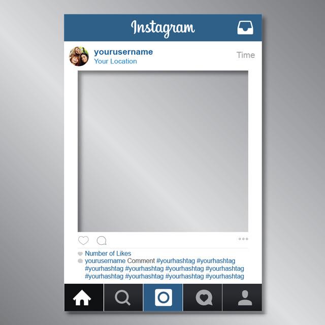 promotions instragram photos frame