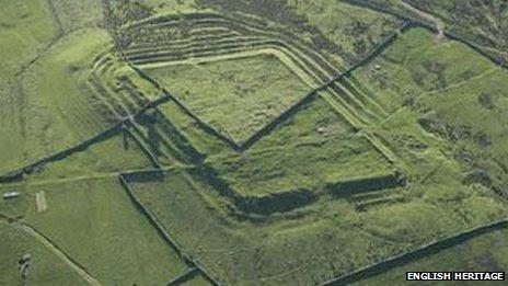 Epiacum Roman fort remains