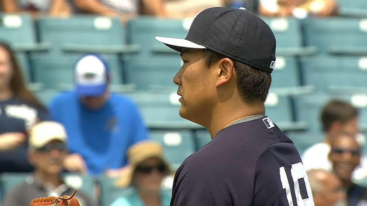 Masahiro Tanaka abrirá por los Yankees en el Día Inaugural