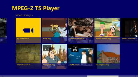 MPEG-2 TS Player for Windows 10 PC free download ...