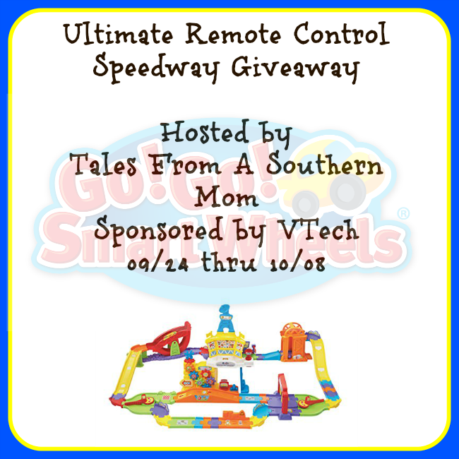 Enter the RC Ultimate Speedway Giveaway. Ends 10/8
