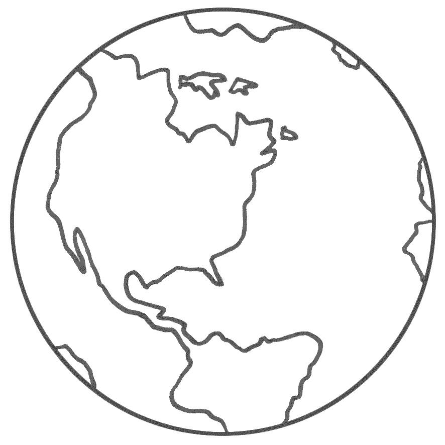 Dunya Haritas Boyama Sayfas Ust Ev Boyama Sayfasi