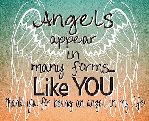 Youre An Angel In My Life Free Angel Week Ecards Greeting Cards