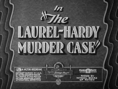 Laurel-Hardy Murder Case title card