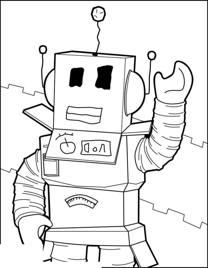 Desenho Do Roblox Para Pintar - Free Robux Cheat Codes