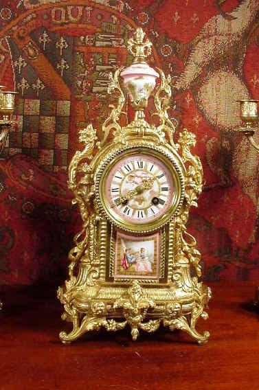 英国-dragon antiques-店的钟表--图4