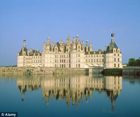 The Renaissance-style Chateau de Chambord in France's Loire Valley