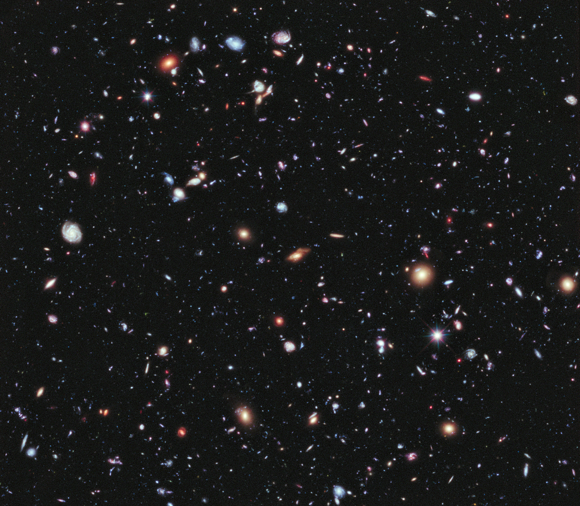 NASA Gets the image more depth and wide of the universe
