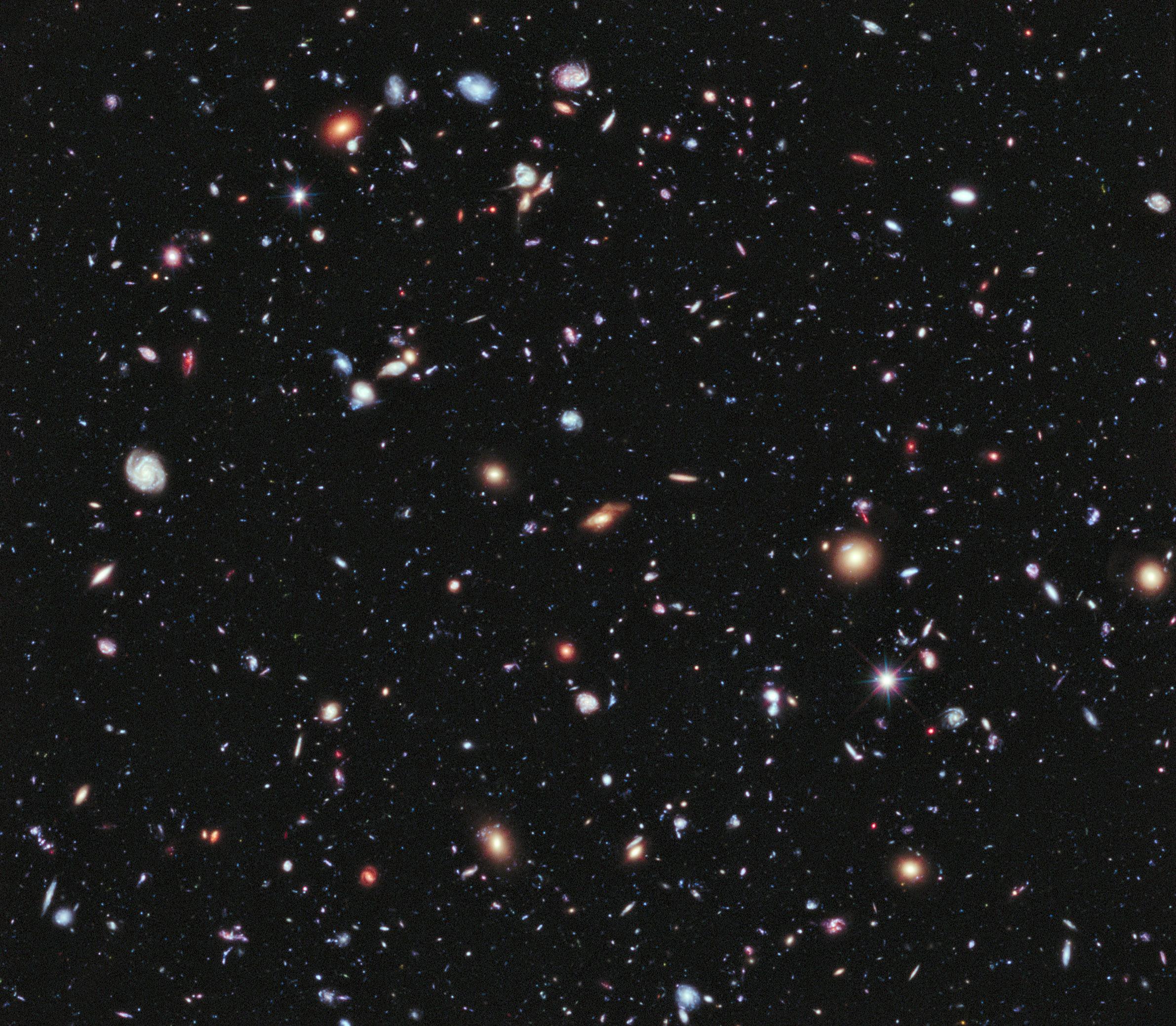 Nasa obtiene la imagen mas profunda y amplia del universo