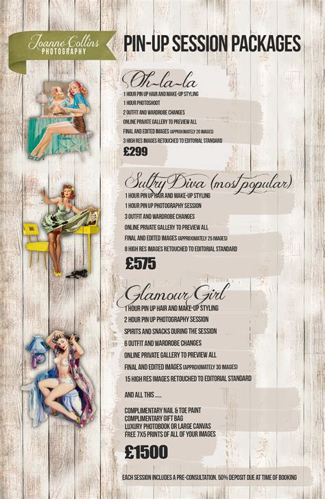 Vintage Pin Up Prices » Joanne Collins Photography