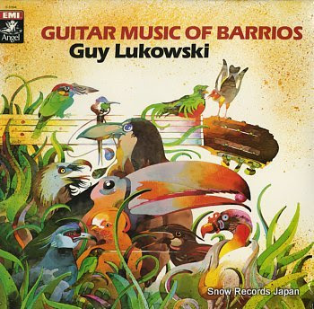 LUKOWSKI, GUY guitar music of barrios