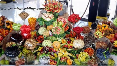 fruit display   Persian Wedding and Party Services Photos