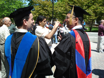 PhD doctoral hood for different universities a...
