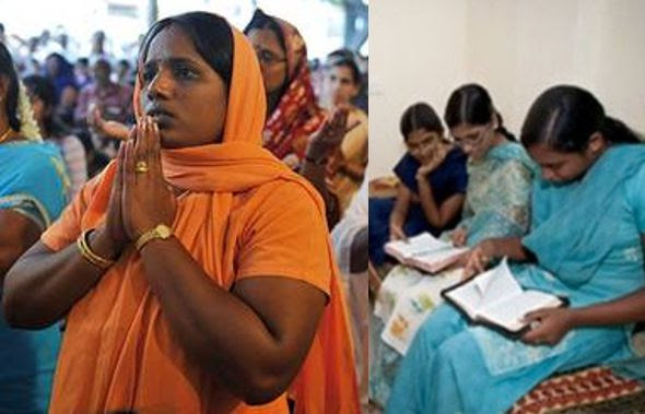 Resultado de imagen para cristianos en india