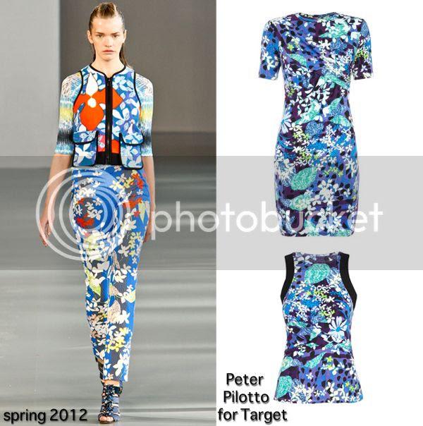 Peter Pilotto digital floral print