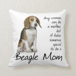 Beagle Mom Pillow