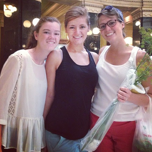 Whitney, Emma, Katie.