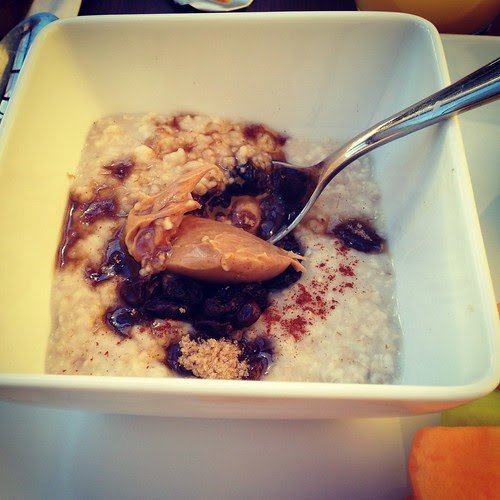 oatmeal breakfast Hyatt Place