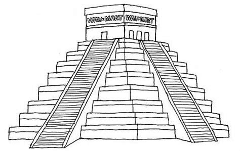 Gallery For > Mayan Pyramids Drawings   Prom   Drawings