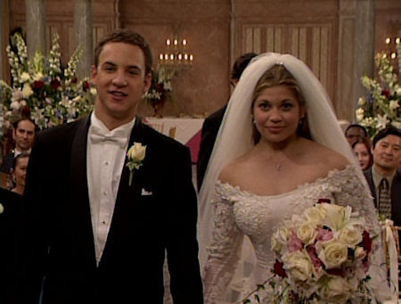Boy Meets World - Cory and Topanga Wedding