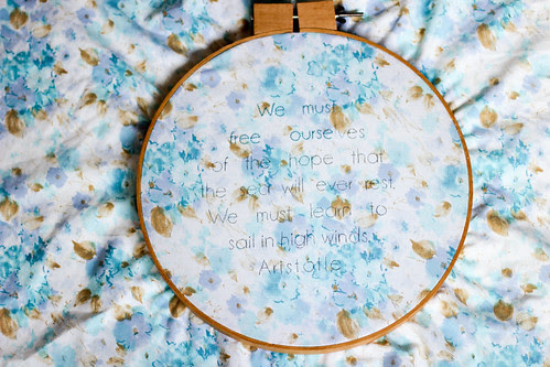 New Embroidery by Jeni Baker