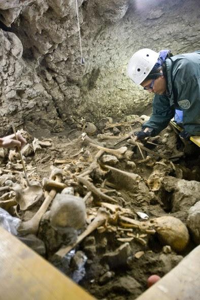 Yacimientos arqueológicos de la Sierra de Atapuerca� DB/Miguel Ángel Valdivielso�