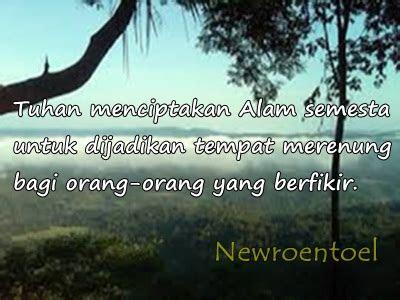 kata kata mutiara bijak tentang alam