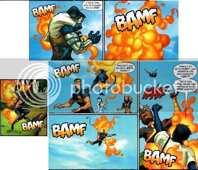 Noturno vs X-Men